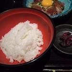 九州 熱中屋 - ご飯は熊本県産ヒノヒカリ使用