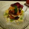 アンティカ トラットリア ダル ピラータ - 料理写真:湯ヶ島産紅姫あまごのマリネ