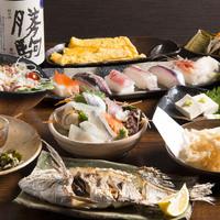 新鮮な富山の魚介類