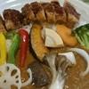 CHOTA - 料理写真:キーマ野菜カレー(ミニメンチとミニポーツカツ)