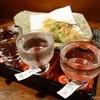 ぼろ蔵 - ドリンク写真:おまかせ日本酒三種【850円】