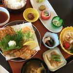サンライズ食堂 - 淡路島ポークとんかつ定食