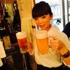 肉寿司 - ドリンク写真:特大で乾杯!!