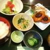 あん庵 - 料理写真:お刺身と南蛮味噌カツ定食880円!