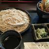 文子 - 料理写真:そばとミニ天丼のセット 1000円