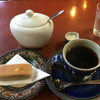 光原社 可否館 - 料理写真:クルミクッキーおコーヒーで635円