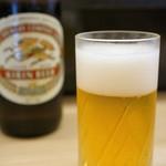 与多呂 - ドリンク写真:とりあえずビールです♪