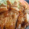 ふるさと - 料理写真:しょうが焼き定食