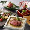レストランあしや竹園 - 料理写真:テーブル席但馬牛懐石