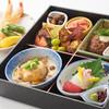レストランあしや竹園 - 料理写真:テーブル席松花堂