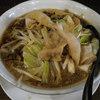 麺屋わっしょい - 料理写真:男の黒醤油麺(麺大盛り:\740)
