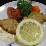 くまさんの台所 - 魚料理は、「羽魚(ハイオ=かじきまぐろ)のムニエル」です