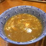 百日紅 - 濃厚煮干しつけ麺のつけ汁