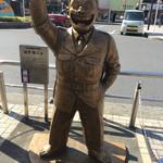 道 - 駅前には、あの人の銅像が!