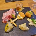 バルバ ビアンカ - 料理写真:前菜の盛り合わせ