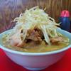 ラーメン二郎 - 料理写真:ラーメン小 豚入り(ニンニク)