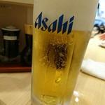 魚がし日本一 - 生ビール(500円)