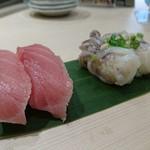 魚がし日本一 - まぐろ(75円×2)&生ゲソ(75円×2)