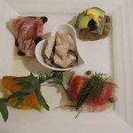 リチェッタ・ミヤガワ・リストランテ - 前菜5種