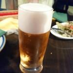 ダバインディア - やはりビール