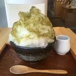 52105841 - オリジナル擂茶氷(葛餅入り)