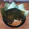 梅家 舎弟 - 料理写真:ラーメン700円麺硬め。海苔増し100円。