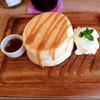プランピーパンケーキス - 料理写真:プレーン パンケーキ 800円