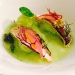 マルドルメ - 料理写真:ハタハタのマリネと胡瓜