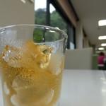 レストラン サビエルカンパーナ - ドリンク写真:今日は、ビールではなく、ビールゼリー(笑)!