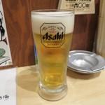 肝どん - 生ビール