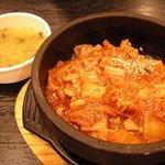 韓国家庭料理 チェゴヤ - 石焼きダッカルビ丼