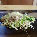 天下茶屋 - [2016/06]牛肉・一人前(648円)