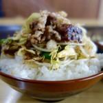 天下茶屋 - [2016/06]牛肉 on the ライス