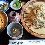お食事処きたむら - もりそば820円とミニ玉子丼310円(税込)