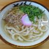 東筑軒 - 料理写真:「かしわうどん」360円