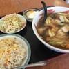 中華料理 吉民 - 料理写真:広東メン+五目炒飯