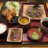 定食屋ジンベイ - 料理写真:札幌ザンギ蕎麦定食、880円です。