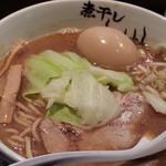 青樹 - 煮干しラーメンこってり790円