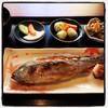 うおはん - 料理写真:イサキの塩焼