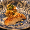 虎白 - 料理写真:先付 (のど黒炙り 焼き茄子)