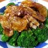 餃子菜館 万徳 - 料理写真:よだれ鶏と焼きナス