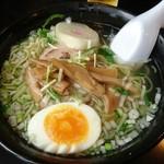 52171374 - 味彩塩拉麺(ハーフ)500円