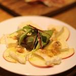ル バー ラヴァン サンカンドゥ アザブ トウキョウ - カマンベールとリンゴにハチミツ