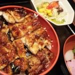 うなぎのふじ井 - 料理写真:櫃まぶし 梅 1600円☆☆
