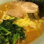 麺家 黒 - ラ-麺