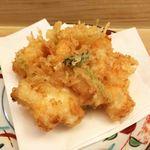 天ぷら懐石 いせ - 上天ぷら定食(かき揚げ)