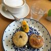 ラグラスリィ - 料理写真:豆乳のマフィン ドリンクセット