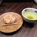天菊 - 手作りおはぎの天ぷらの美味さは健在