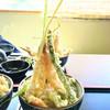いちのもん - 料理写真:これが話題のタワー天丼