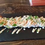バルコ札幌 - 料理写真:「タコとジャガイモのカルパッチョ風」